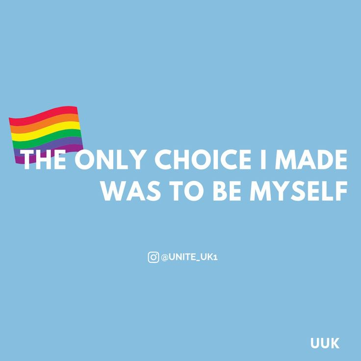 Being gay isn't a choice 🏳️‍🌈