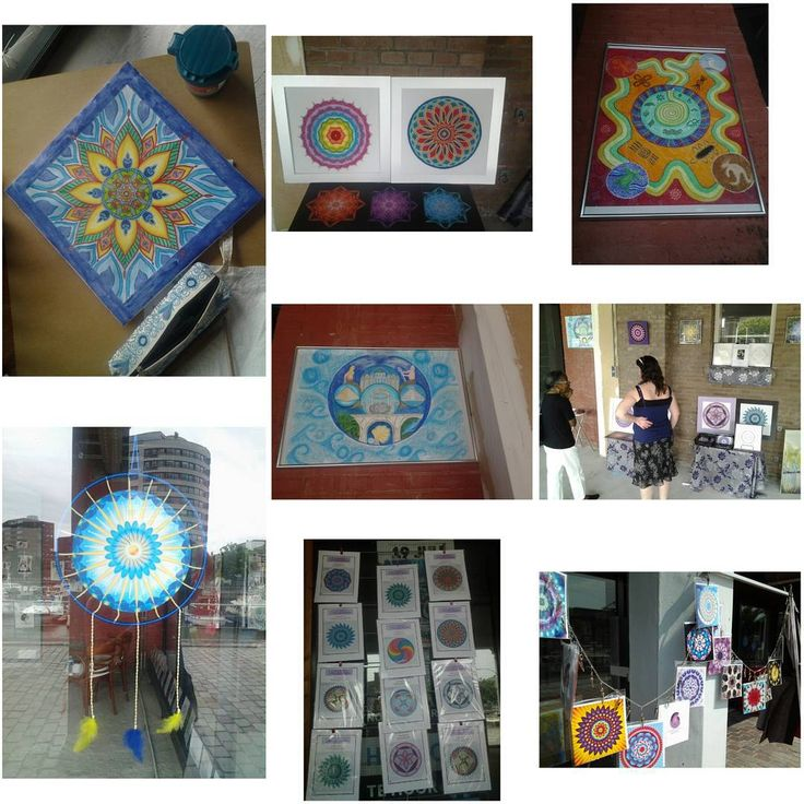 Some of my mandala artworks at the popup art exposition in Rotterdam, Entrepot harbour this weekend!  #mandala #mandalaart #mandalacreations #artworks #artwork #droomcreaties #photocollage #popup #popupexpo #popupexpositie #artgallery #rotterdam #rotterdamzuid #entrepotgebouw #entrepothaven #entrepotharbour