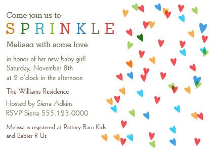 Free Printable Baby Sprinkle Invitations Baby Shower