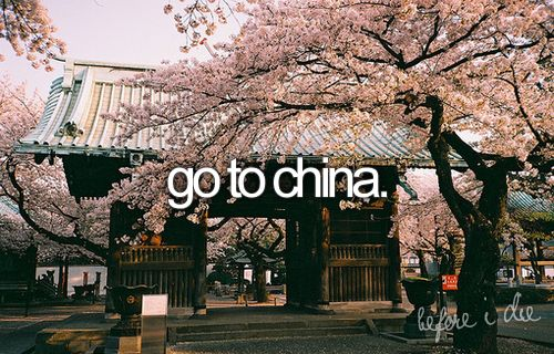 Cherries Blossoms, Bucketlist, Oneday, Buckets Lists, Sewing Projects, Giants Pandas, Before I Die, Places, China