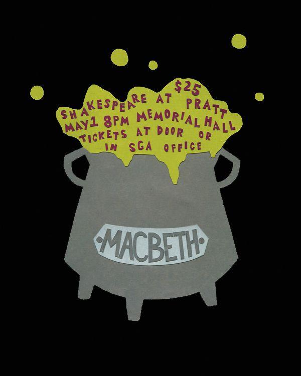 "Stephanie Massine, ""Shakespeare at Pratt"" Macbeth"