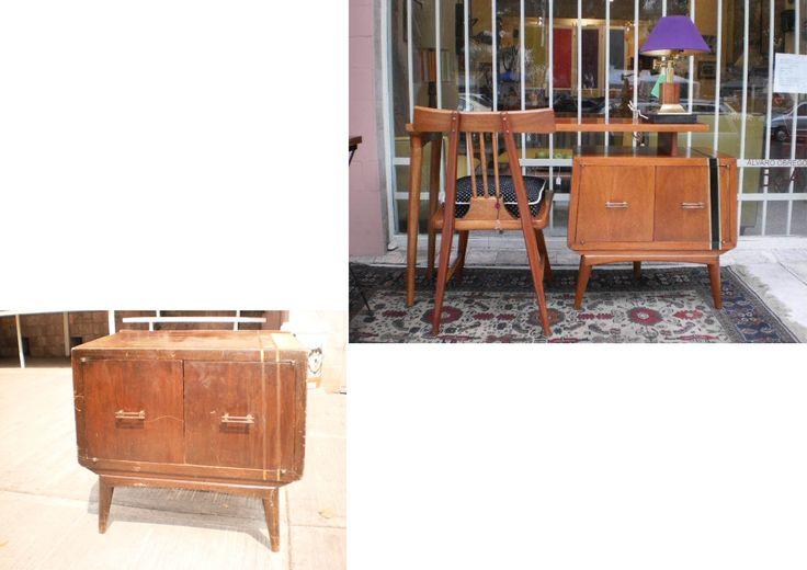16 best muebles restaurados images on pinterest - Muebles restaurados vintage ...