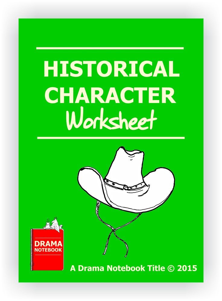Free to drama notebook members this twopage graphically