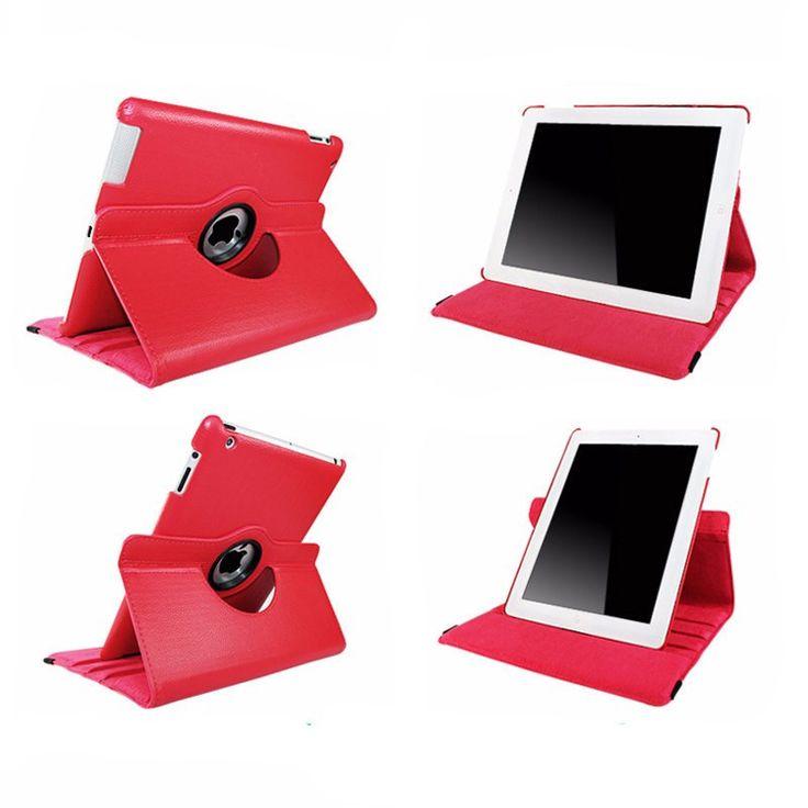 iPad 2/3/4 360 Rotating PU Leather Wallet iPad Case - mg007