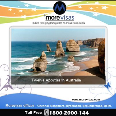 #TwelveApostles, A collection of limestone stacks situated in the Port Campbell National Park in #Victoria, #Australia..