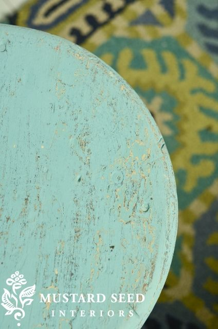 MMS Eulalie sky blue chalk paint