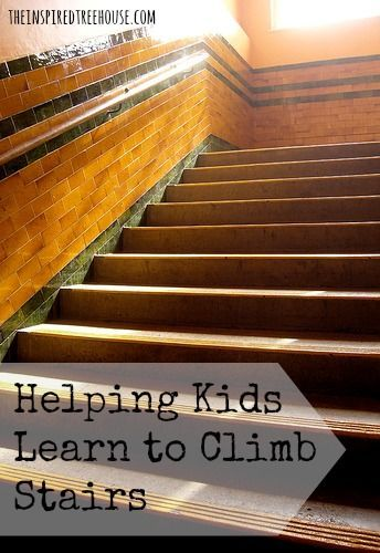 Child Development Helping Kids Learn To Climb Stairs