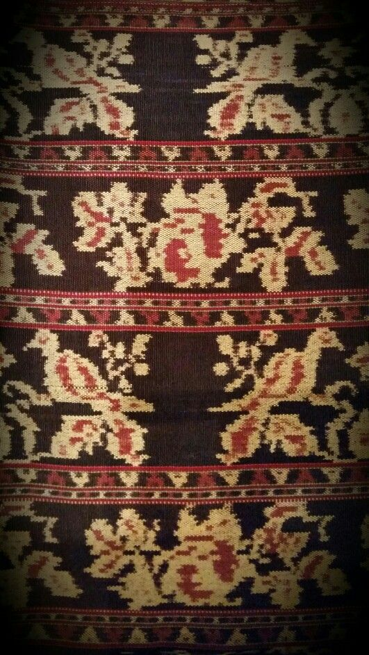 Ikat from Ende (my private collection)