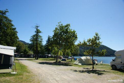 Golfo del Sole - Camping bei Lugano