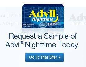 Request a Sample of Advil Nighttime    http://freebabystuff.ca/free-sample/advil-nighttime/