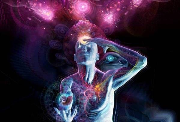 Glande pinéale: Grâce à l'augmentation de la clarté, de la concentration, de l' intuition de l' imagination et même de la conscience psychique, le troisième