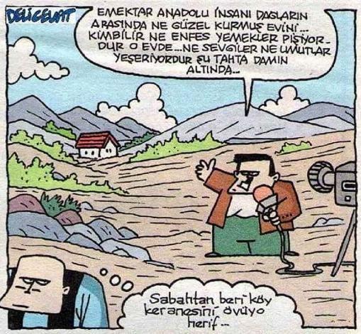 Köy Evi Karikatürü Özer Aydoğan | Karikatürname
