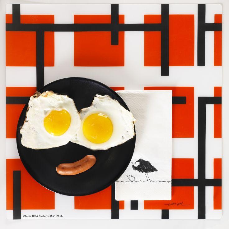 Începe ziua cu un mic dejun vesel.