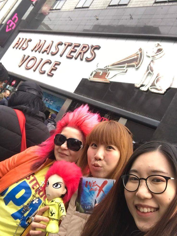 Hideto Matsumoto (hide X Japan) =Life Of A Shooting Star =: HMV autographs signing session at HMV London  It i...