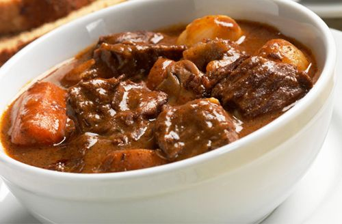 Warm-Your-Heart Bison Goulash. When the temperature dips, warm up with a hearty bowl of bison goulash. It's thick with veggies and tenderly-braised chunks of bison tri-tip or sirloin tip steak. You may not feel like leaving the kitchen until spring.