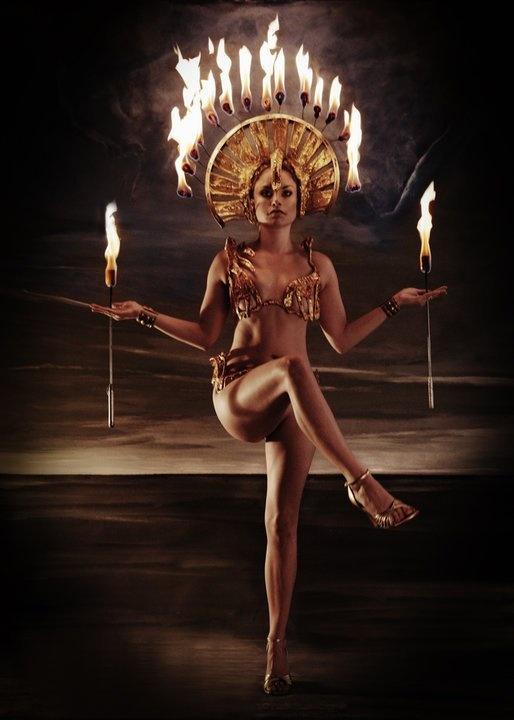 SOTU fire dancer