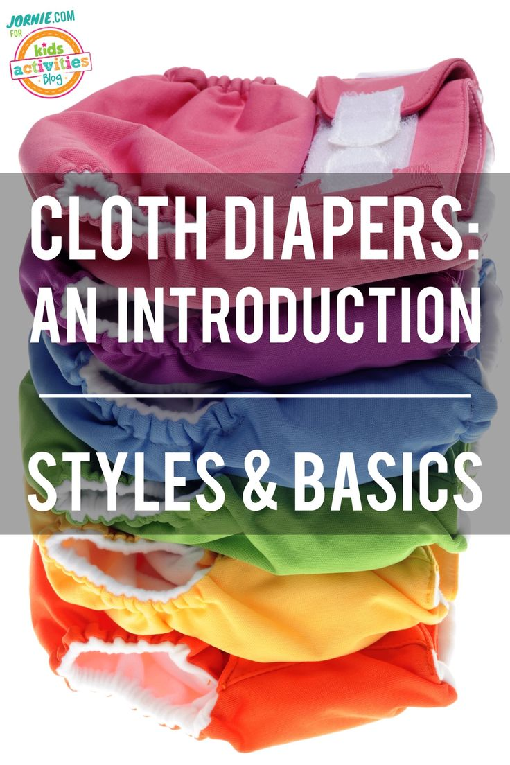An introduction to cloth diapers - here are all the basics you need to know.