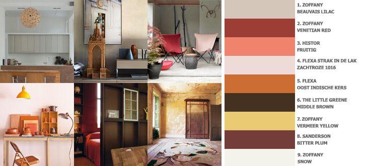 Eetkamer Van Oranje : en zacht, het oranje geeft een warme gloed. De ...