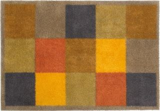 Brown Squares doormat