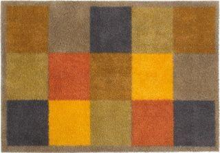 Brown Squares doormat