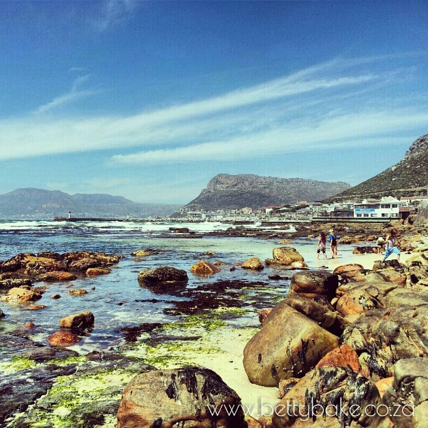 St James beach in Cape Town, South Africa . Instagramed by Betty Bake #keeprolling