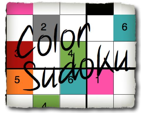 how to play color sudoku
