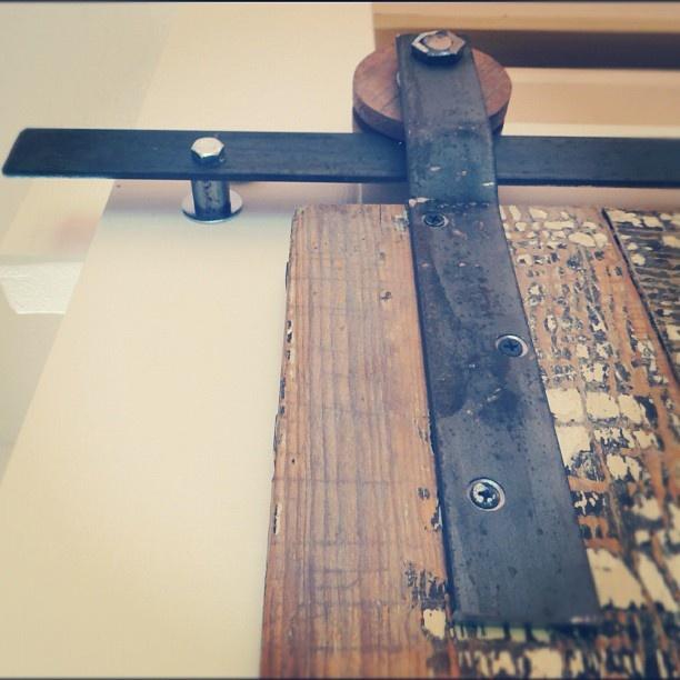 17 best ideas about track door on pinterest diy sliding for Exterior multi track sliding doors