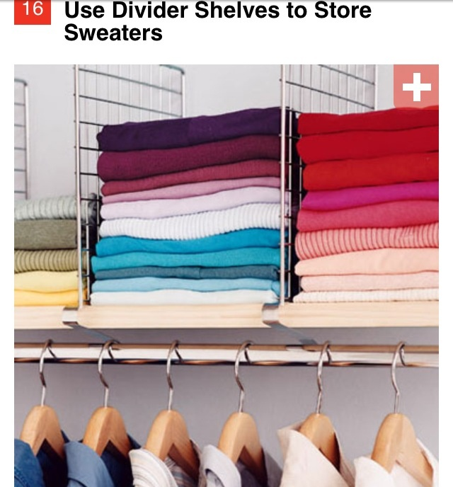 Organize Your Clothes 10 Creative And Effective Ways To Store And Hang Your Clothes: 1000+ Images About Closet On Pinterest