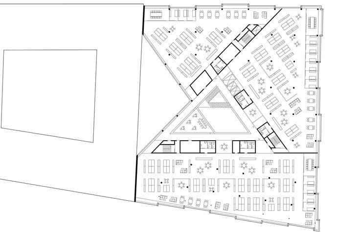 Kjellander + Sjöberg Architects - Snäckan 8 - Plan