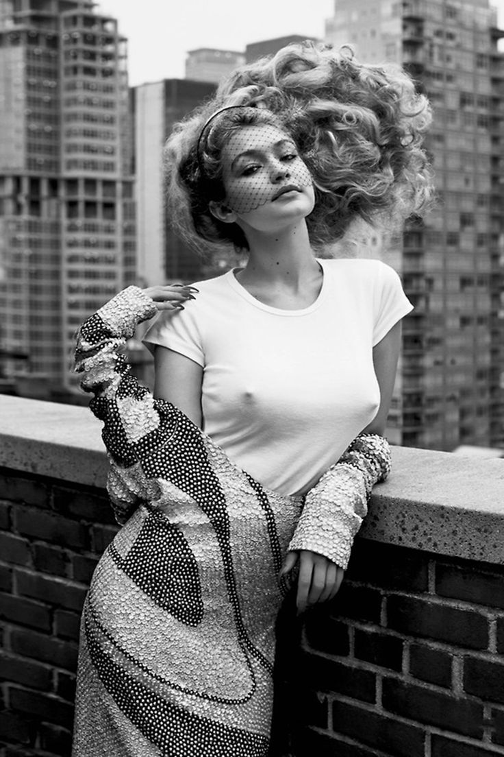 Gigi Hadid for CR Fashion Book #5, photographed by Sebastian Faena