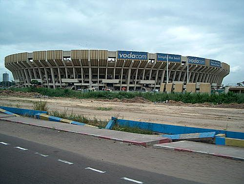 (Soccer) Stade des Martyrs, Kinshasa, Democratic Republic of the Congo (capacity: 80,000)