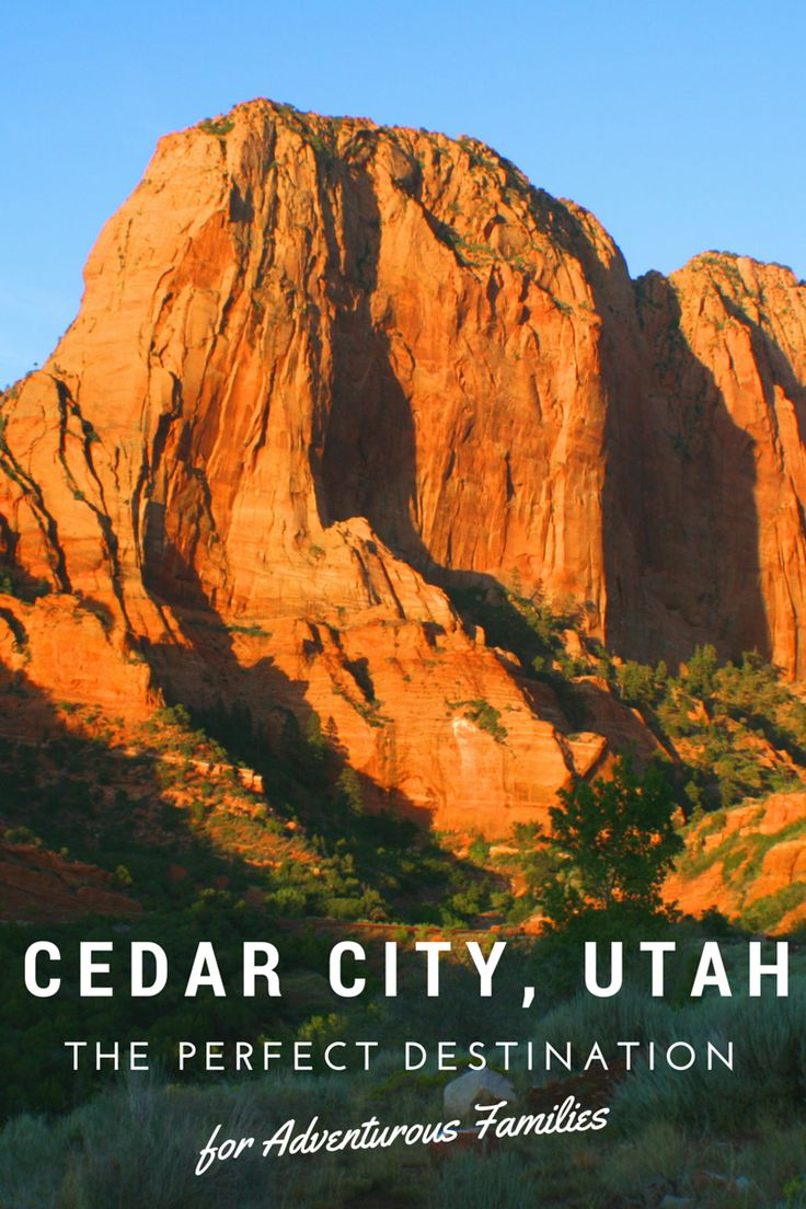 Cedar City, Utah is the Perfect Destination for Adventurous Families-Kids Are A Trip