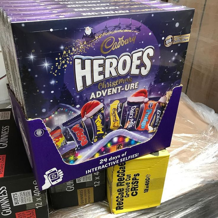 Wow! Look at this for an Advent Calender! #adventcalendar #cadbury #britishshop #britishfood