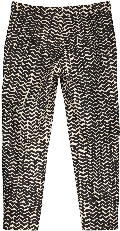 Martha Sahalaitaraita trousers - off-white, black - Trousers & jumpsuits - Clothing - Marimekko.com