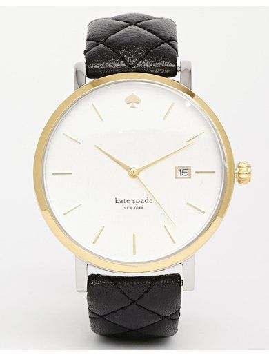 Kate Spade Metro Grand Black Watch - Black