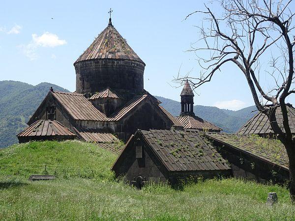 Centralna część lasztoru Hachpat