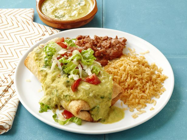 Almost-Famous Chimichangas Recipe : Food Network Kitchens : Food Network - FoodNetwork.com loved the seafood version