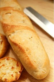 dailydelicious: Easy French Bread ?: I like to take it easy!!!