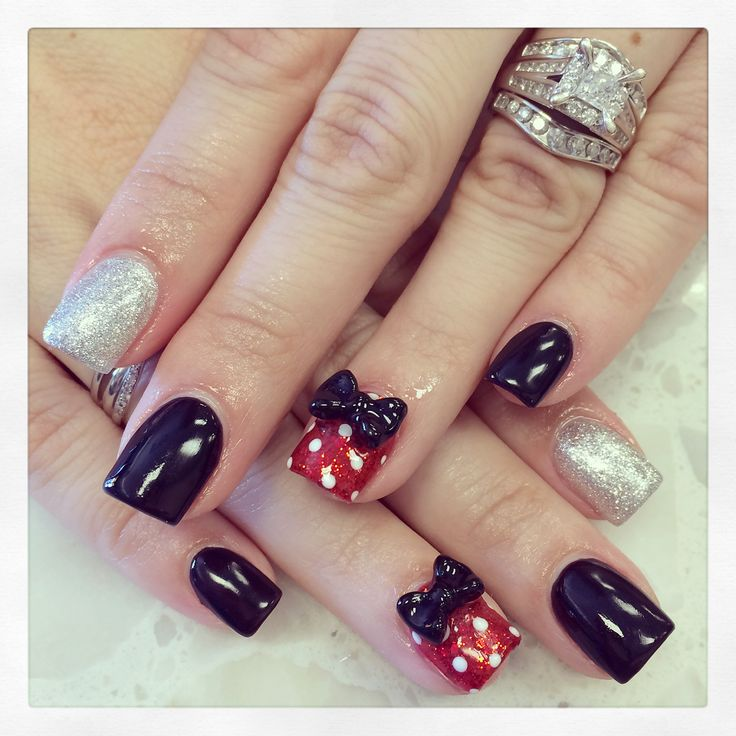Halloween Nail Art Designs Without Nail Salon Prices: 25+ Best Ideas About Disney Acrylic Nails On Pinterest