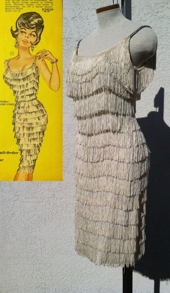 50s 60s Fredericks of Hollywood Fringe by BernieDexterDesigns, $350.00