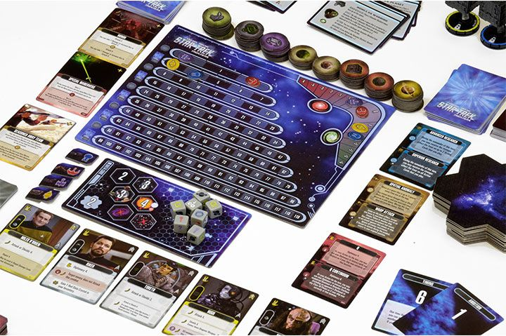Overview Designed by Andrew Parks, Star Trek: Frontiers puts a new spin on the bestselling board game, Mage Knight by Vlaada Chvátil.  Details      Release Date June2016     Genre Boxed Strategy Games   Game Time 1+ Hrs   Ages 14+      Rulebook  Game Walkthrough      Available Now!    Star Trek: Frontiers Strategy Game