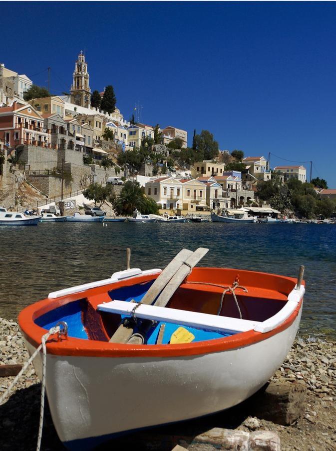 """""""Vaporia"""" district, Hermoupolis, Syros, Cyclades islands, Greece"""