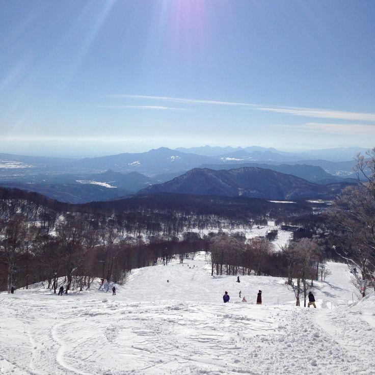 Tanbara ski park, Gunma, Japan