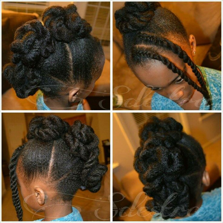 Awe Inspiring 17 Best Images About Natural Kids Twists On Pinterest Flat Hairstyle Inspiration Daily Dogsangcom