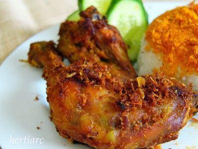 Resep - Ayam Kampung Goreng Bumbu Kuning | Budidaya Ayam Kampung Super
