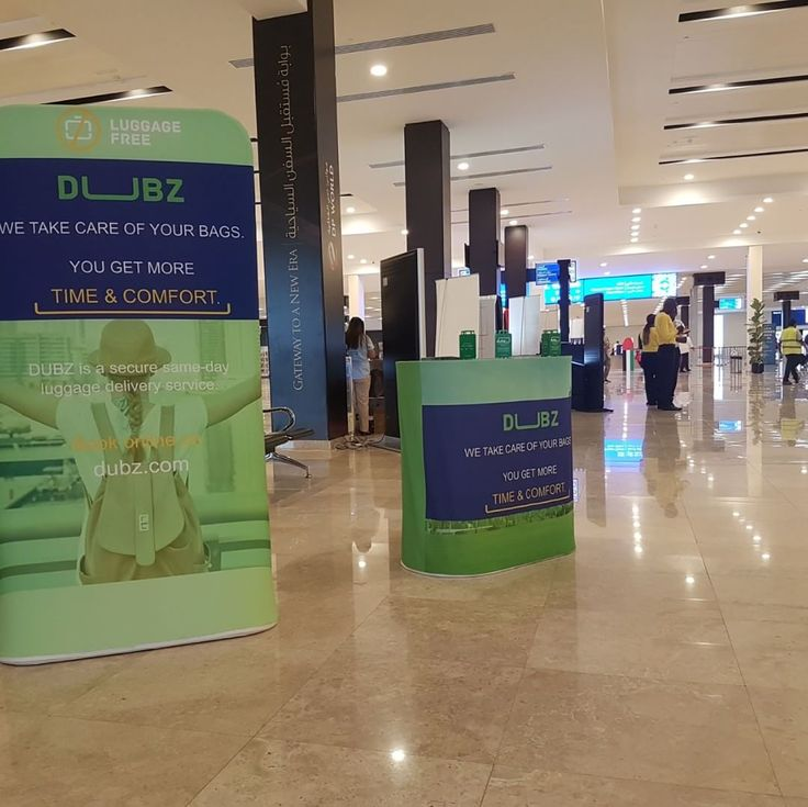 Enjoy your last few hours in #Dubai and we'll get your bags to the #airport for you. Collection points: Terminal 1: Departures Entrance Gate 3 (next to Costa Cafe) Terminal 2: Departures Entrance Gate 2 Terminal 3: Departures Entrance Gate 2 (next to the Info Desk) – DUBZ.com –