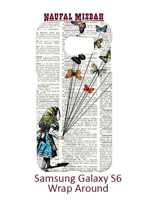 Alice in Wonderland Samsung Galaxy S6 Case Cover