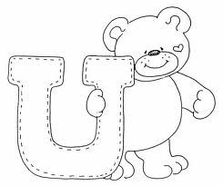 bears alphabets