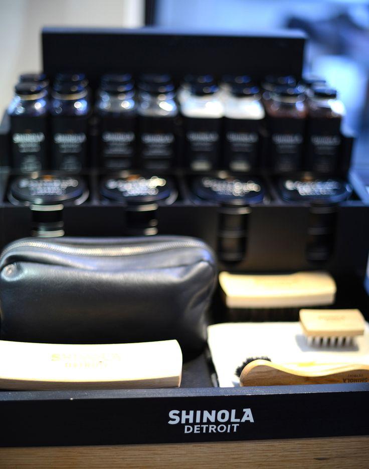 Shinola Detroit store in Soho #shopping #leather #london