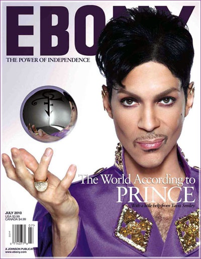 Prince covers Ebony magazine - July 2010